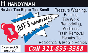 Jeffs handyman