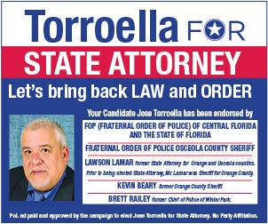 Torroella for state attorney
