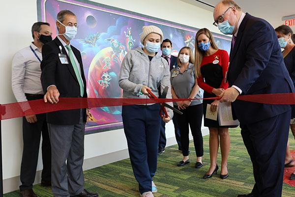 In 2019, Nemours announced a $1 million gift from Disney to help reimagine spaces to more personal and comforting experience for patients and their families.