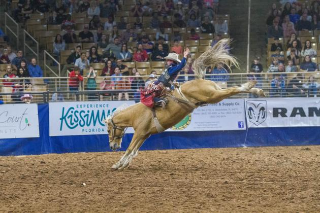 Silver Spurs Rodeo will feature bull riding, bareback bronc riding, saddle bronc riding, barrel racing, tie-down roping, team roping and steer wrestling.