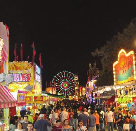 The Osceola County Fair features Central Florida's own James E. Strates Shows carnival midway with over 100 rides, games and food concession. PHOTO COURTESY OF THE OSCEOLA COUNTY FAIR