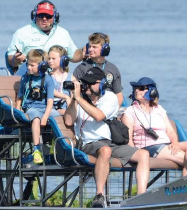 Kissimmee Swamp Tours takes guests for airboat rides through the Florida Everglades. PHOTOS/EXPERIENCE KISSIMMEE